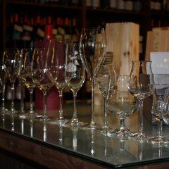 Bicchieri per il vino, e non solo.