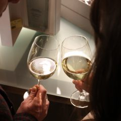 Esame visivo del vino